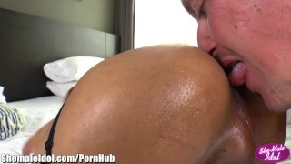 ShemaleIdol Horny Guy Barebacks and Facials Ladyboi screenshot 5