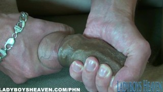 Ladyboy Foot Fetish and Fucking screenshot 5