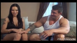 Zeb Atlas Brunette porn screenshot 3
